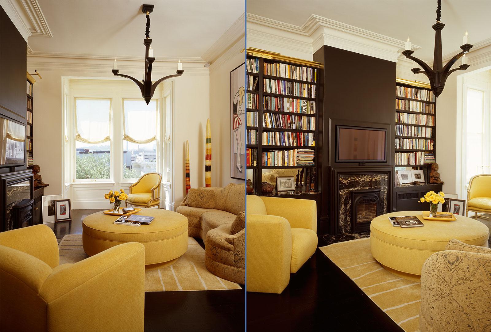 Penthouse interior design san francisco jerry jacobs - Interior decorator san francisco ...